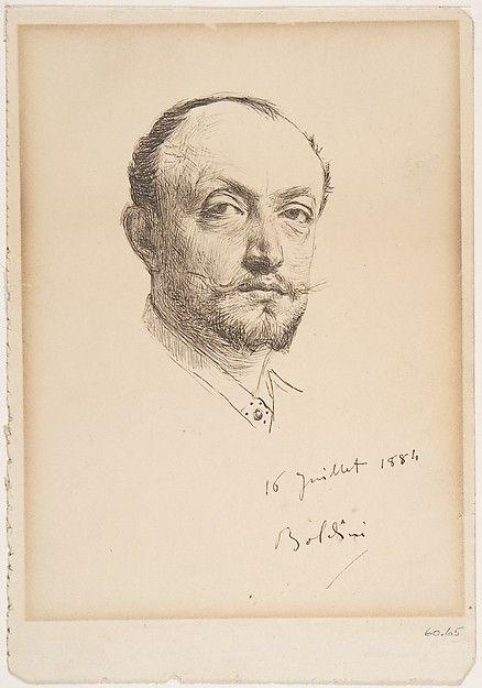 Giovanni Boldini | Portrait of the Artist. | The Met