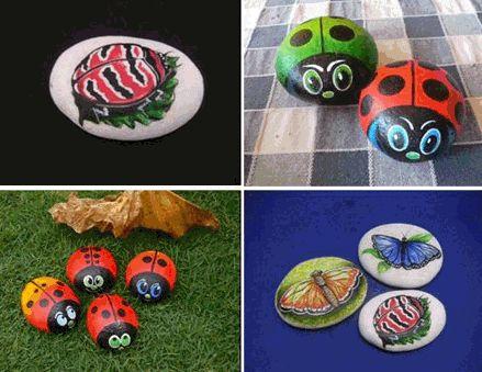Akkela: Piedras pintadas