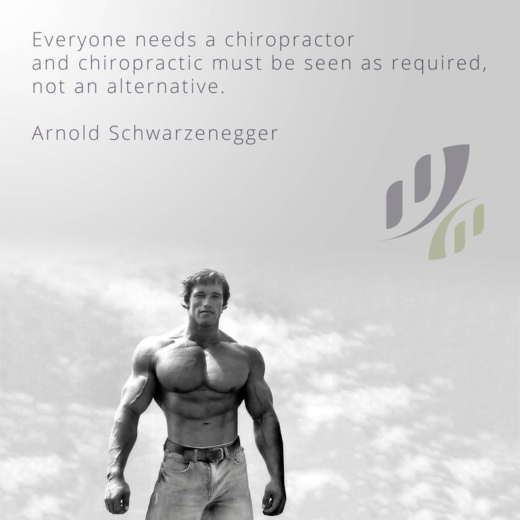 Everyone needs a #chiropractor and #chiropractic must be seen as required, not…