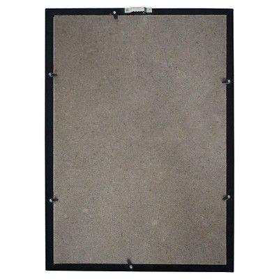 Hathaway Shuffleboard Game Rules Wall Art - Black, Slate Black