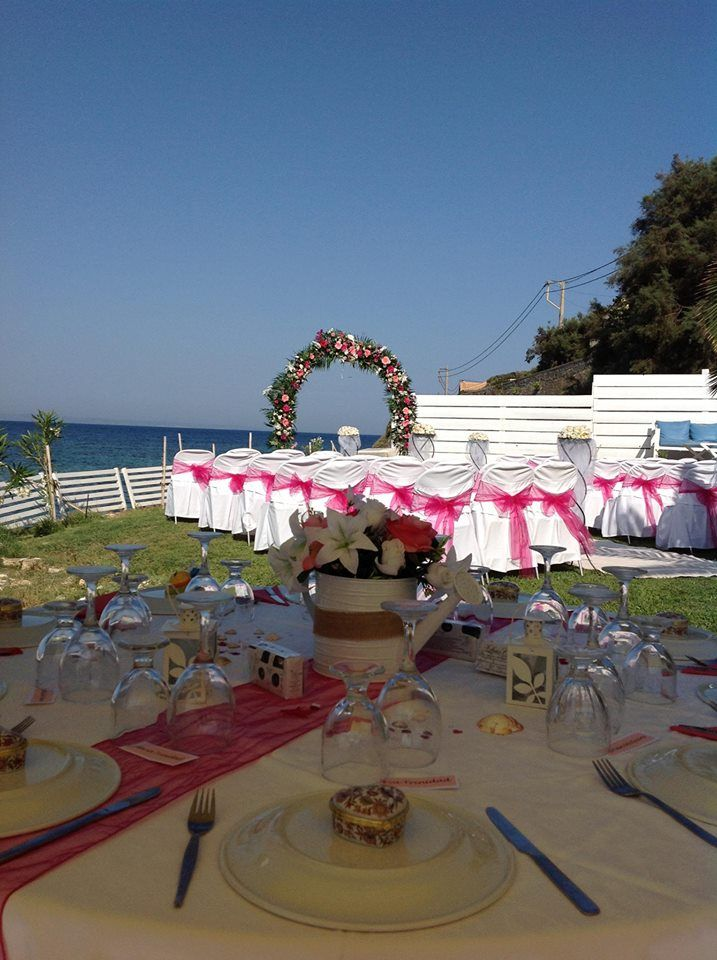 Akrotiri caters for both wedding & reception