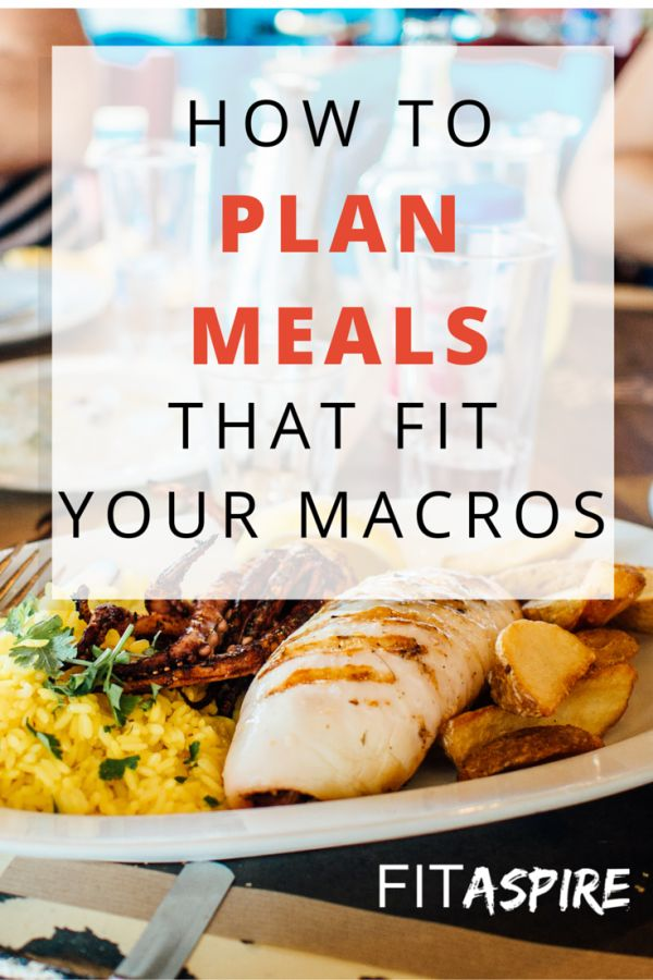 tips for planning recipes to better fit your macro prescription from FITAspire