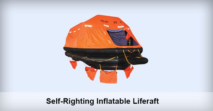 Application Self-righting Inflatable liferaft is suitable for installing in vessels sailing on international voyages as life-saving device. Type ASR-8/10/12/15/16/20/25/30/35/50/66/100 Brand Sea-Air, Sea-Wolf Standard It meets SOLAS (74/96), LSA, MSC.81(70), MSC.226(82), MSC.218(82), MSC.293(87), MSC.323(89), ISO15738(2002). Installation Height 18 to 50 meters. Equipment Outfitting SOLAS A / B Pack. Approval Certificate CCS EC GL