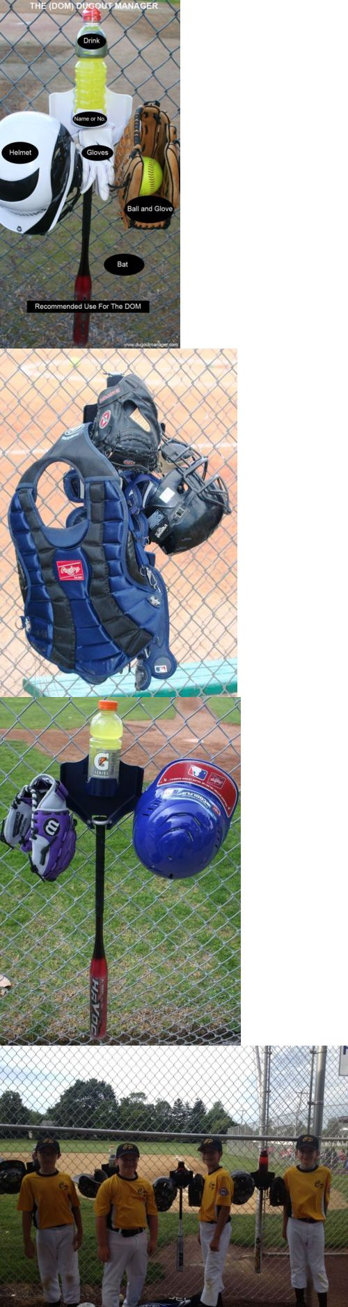 Other Baseball Clothing and Accs 159062: Baseball Dugout Bat Helmet Holder 15 Dom S -> BUY IT NOW ONLY: $339.8 on eBay!