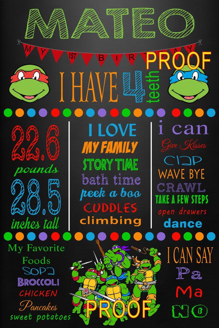 Teenage Mustant Ninja Turttle Milestone Poster