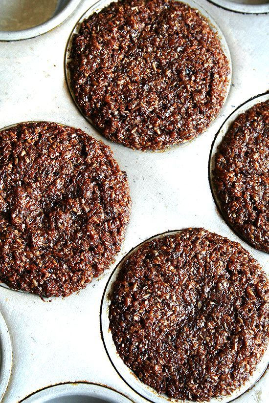 Bran muffins. These are pretty amazing. Super moist! - not what I'd want everytime, but husband and boy guzzled em.