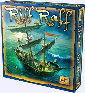 Riff Raff - Le capitaine Œil de Loup ne se soucie guère des pirates. Pour éviter quils ne s'approchent trop près de sa cargaison, il la cache en hauteur, sur les vergues. Mais ce nest pas si simple de grimper là-haut sans perdre léquilibre.