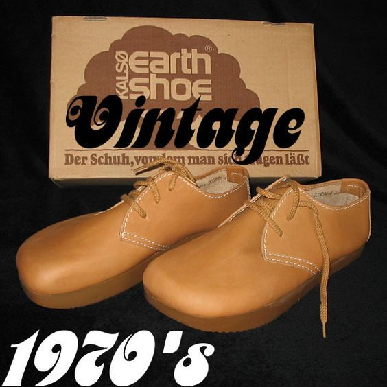 Original Vintage Earth Shoes from 1970's.