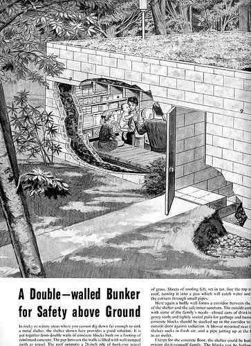 A double-walled bunker