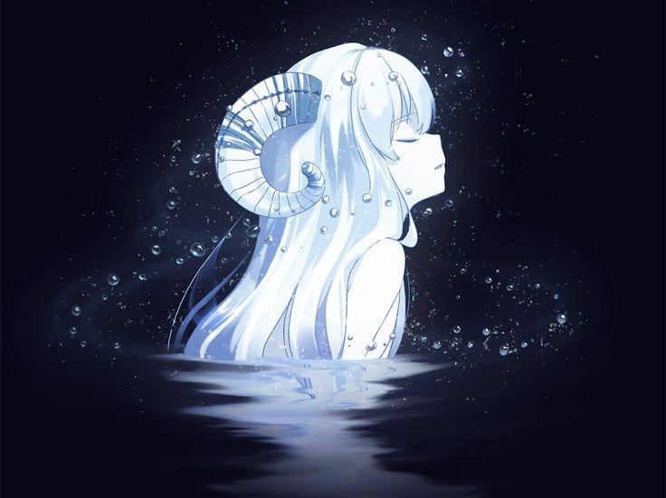 *une jeune femme d'une lueur aussi blanche que la neige sort du lac noire comme les ténèbres afin d'offrir sa bonté au monde*