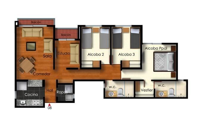 FIORI - 81.4 m2