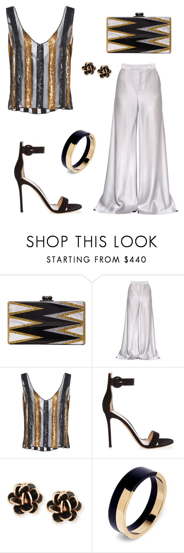 """Untitled #766"" by style75 ❤ liked on Polyvore featuring Edie Parker, Etro, Sally Lapointe, Gianvito Rossi, Chantecler and Marni"