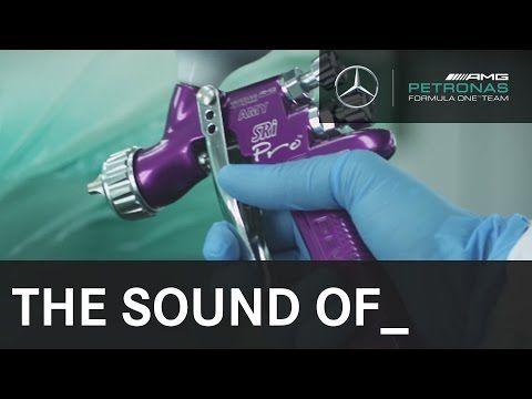 MERCEDES AMG PETRONAS: BOSE Presents - The Sound Of __ The Perfect Coat of Paint