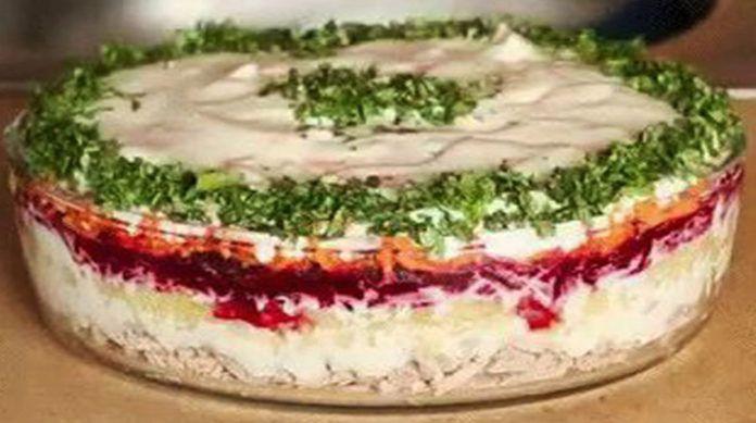 "Салат ""Корель"". Салат просто бомба! http://bigl1fe.ru/2016/12/15/salat-korel-salat-prosto-bomba/"