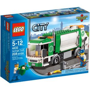 Is my kid the only one that loves garbage trucks?  LEGO City Town Garbage Truck Play Set $17 at walmart $22 at toysrus