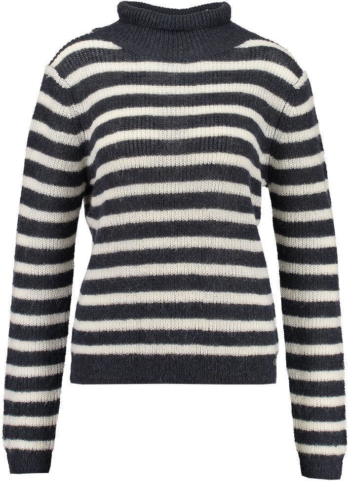 Garcia Sweater stribet U60058 Ladies Pullover - dark navy – Acorns