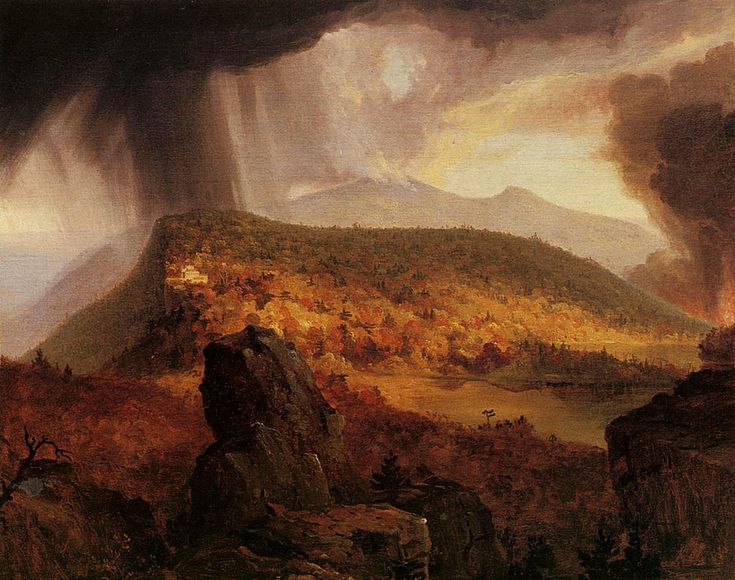 The Four Elements by Thomas Cole, Hudson River School