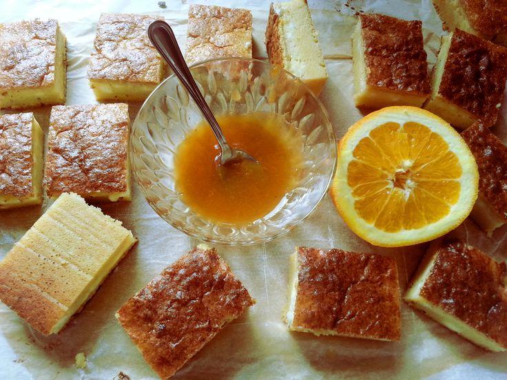 Alakbarát, extra finom, extra gyors narancsos-túrós süti