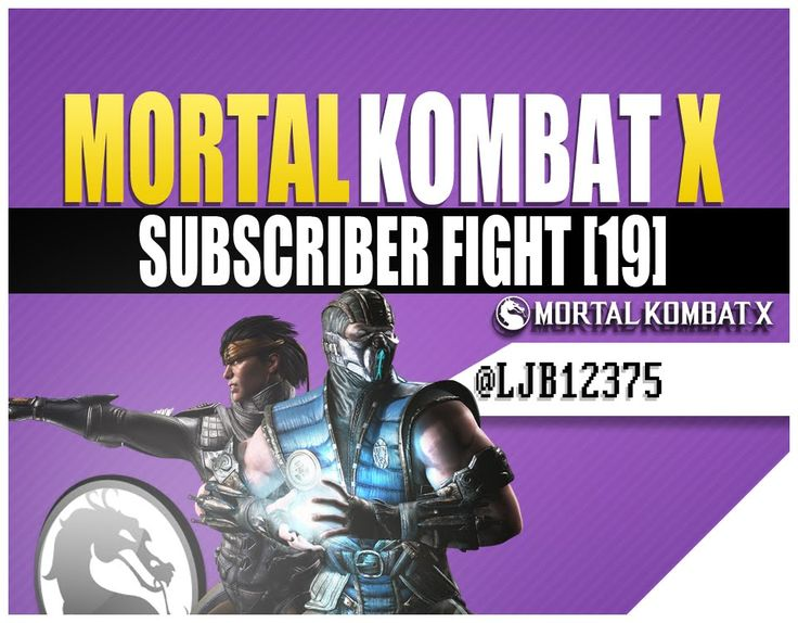 Today we will be playing Mortal Kombat X Online doing some cool subscriber fights against you buddies. If you want to run some Mortal Kombat X Games then feel free to chime in buddy. https://www.youtube.com/watch?v=4-bX_aShZYo