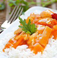 Ken Hom's sweet and sour chicken recipe