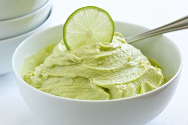Coconut Lime Ice Cream:  1 can of coconut milk, 2 avocados, 1 cup maple syrup, ½ cup lime juice (5 limes), 1 Tablespoon lime zest, ¼ cup water.  Blend in blender then freeze in ice cream freezer.