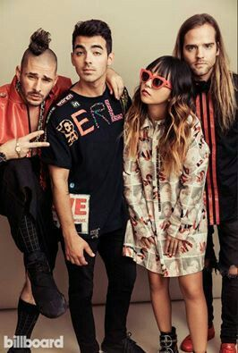 They couldn't be cooler. #DNCE https://open.spotify.com/album/1sfmaFRbpMEGHH7DGup1wT