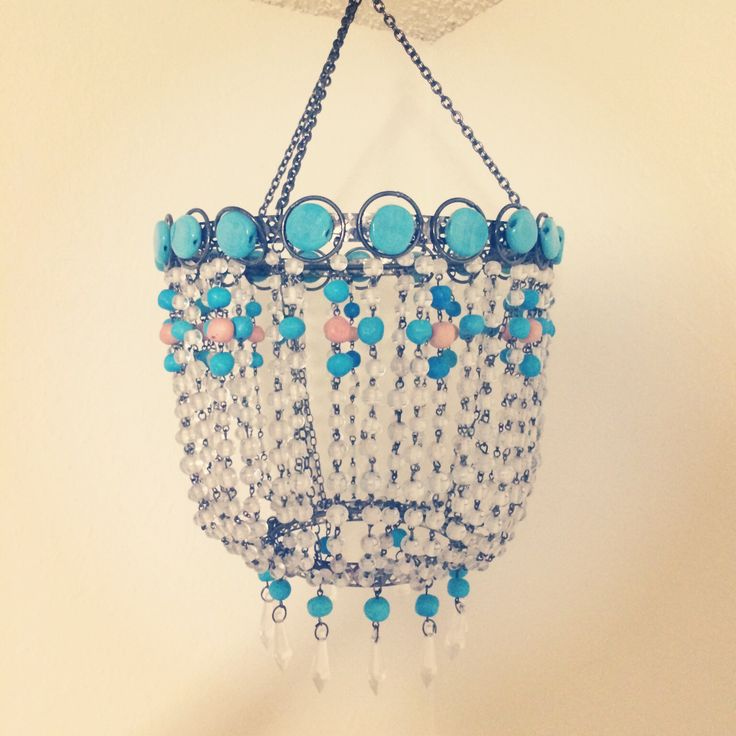 this amazing turquoise mini chandelier i love all the beading u0026 it was only 250