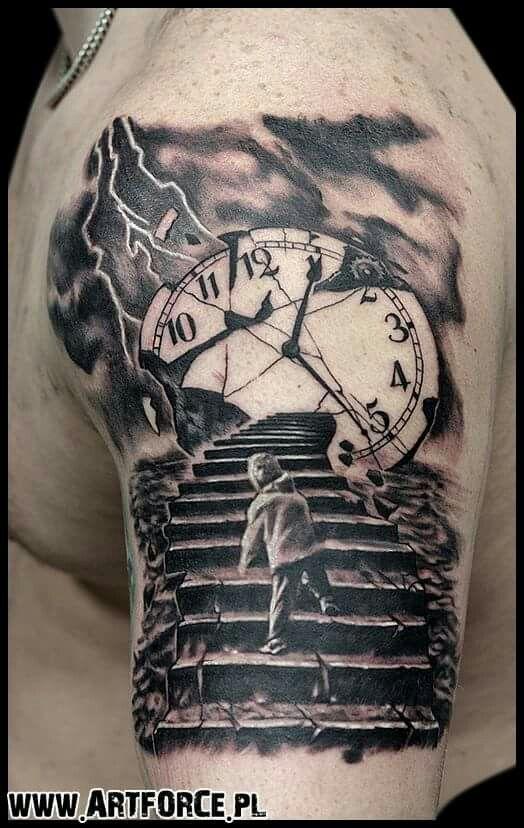 Treppe   – Pomysły na tatuaż