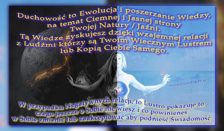 Ciemnosc i jasnosc w sercu-- Duchowosc wiedza Ewolucja #JasnowidzJacek #Jasnowidz #blogspot