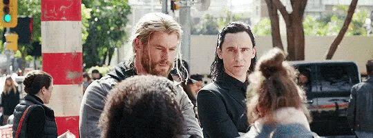 Thor and Loki Marvel Brothers