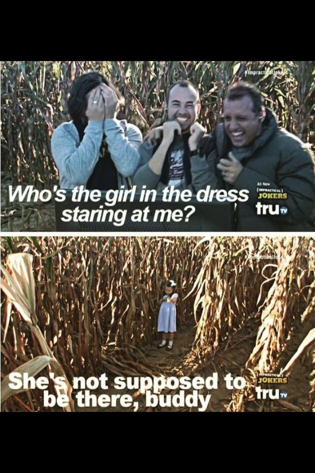 Corn maze, one of my favorite episodes.xD