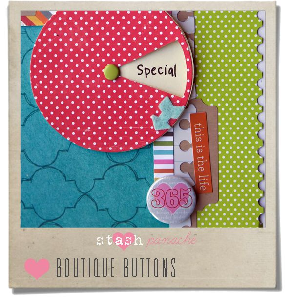 Bonus layout: Morag Cutts from Scrapbook Junkie shows you how to make a simple spinner journal card! - Papercraft Inspirations