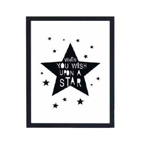 Wall Decor Little White Star