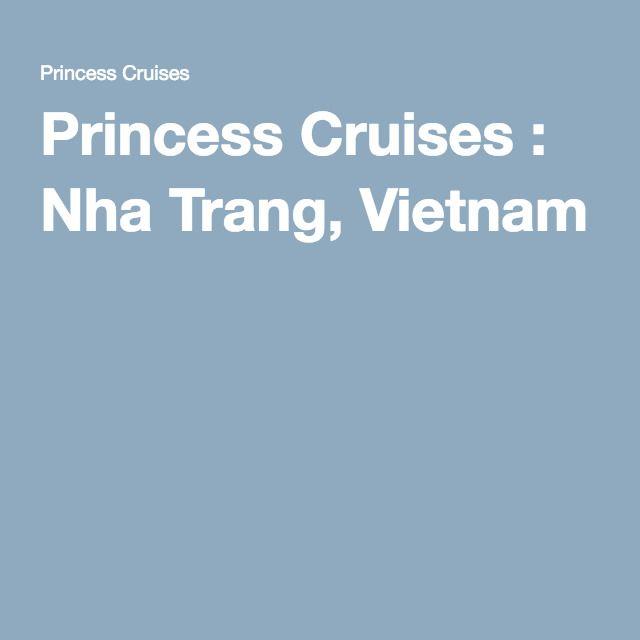 Princess Cruises : Nha Trang, Vietnam