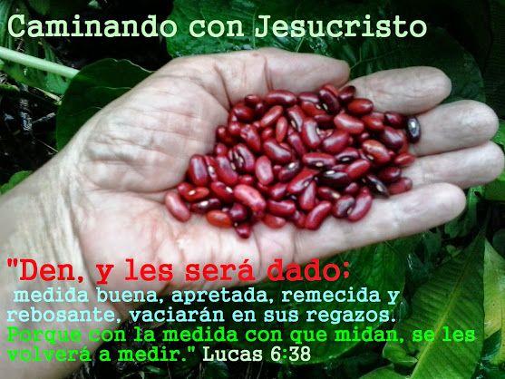 Lucas 6:38.  Caminando con Jesucristo - Comunidad - Google+