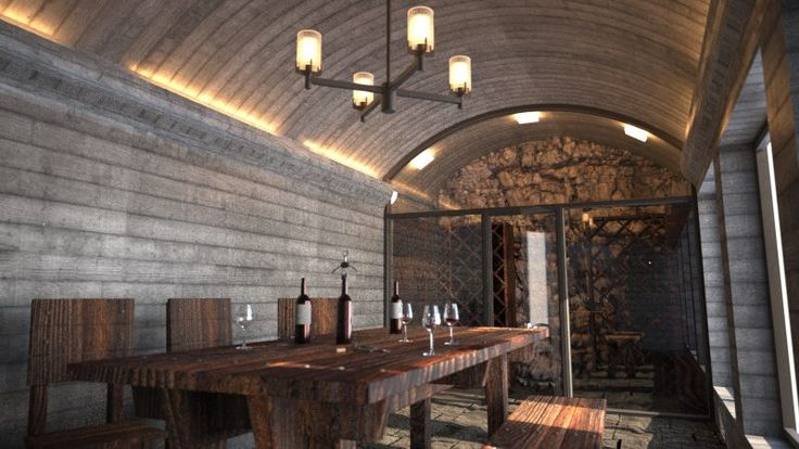 The Wine Room. Anmore, BC rendering