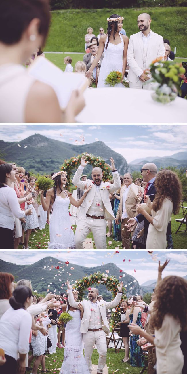 boda asturias 2 boda decorada naranja y amarillo novia vestido charo ruiz ibiza llanes jfk fotografos
