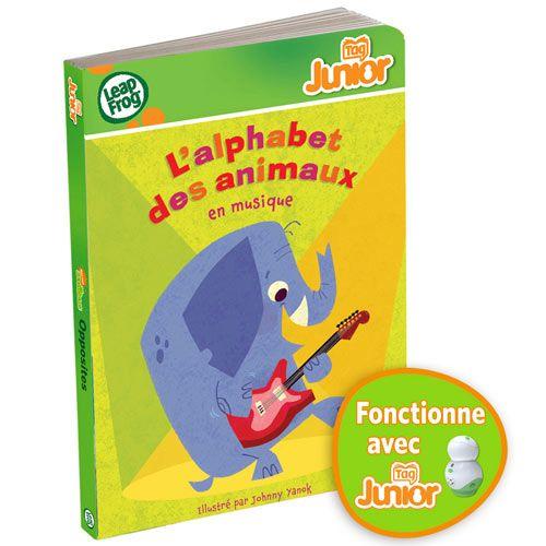 Dans ce livre interactif, les animaux donnent un grand concert pour faire découvrir l'alphabet à votre enfant. Plus de 24 activités amusantes et éducatives encouragent votre enfant à explorer son livre pour y faire de nombreuses découvertes ! Avec Tag Junior, votre enfant joue et se prépare à la maternelle ! Pour jouer et apprendre : l'alphabet, les animaux et les instruments de musique. RESERVE MAMAN