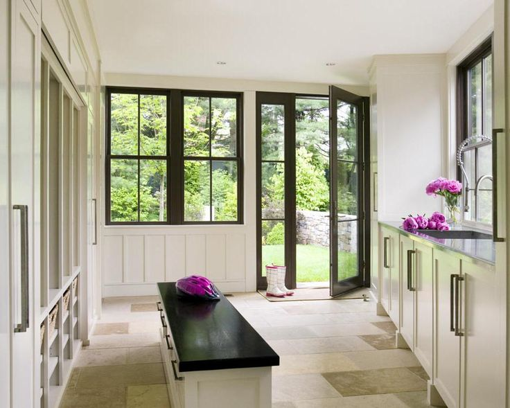 Walker Meadow > Hutker Architects — Martha's Vineyard, Cape Cod and NantucketDoors, Max Room, Mudroom, Windows Frames, Hutker Architects, Dreams House, Mud Rooms, Laundry Rooms, Black Windows