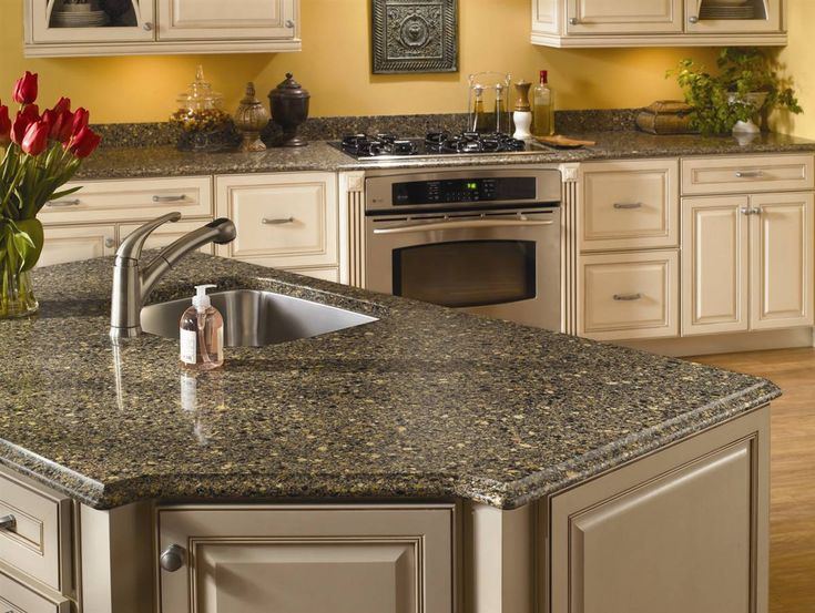 Silestone Black Canyon Quartz Kitchen Countertop