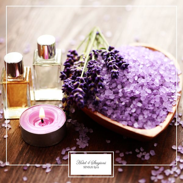 #Peeling corpo con #sali dell´#Himalaya e #lavanda con #olio finale ~ Himalaya #Salze mit #Lavendel #Körperpeeling und abschließende #Ölmassage ~ Body peeling with Himalaya #salts and #lavender with final #oil