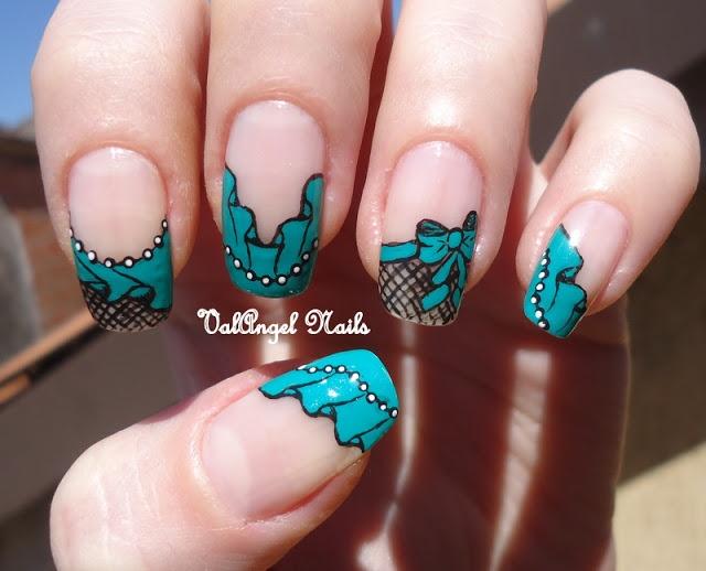 """ValAngel Art Nails: el arte de uñas """"Pasión Azul"""""""