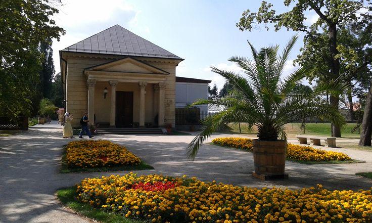Garden in Wilanów, Poland