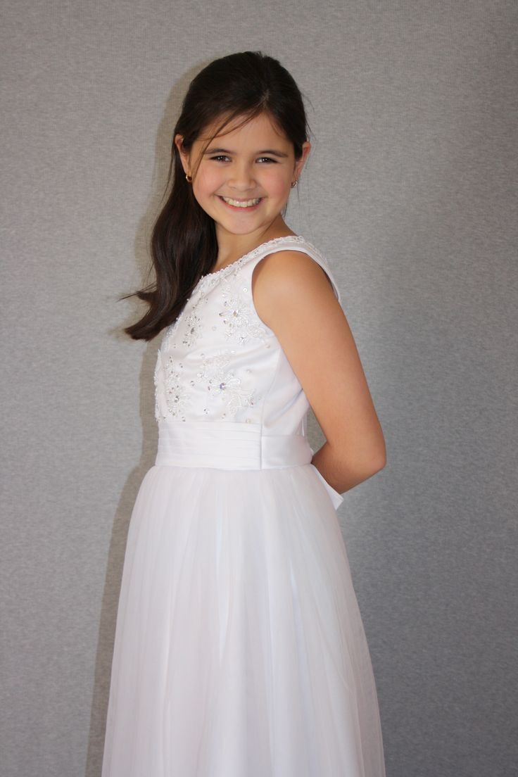 First Communion/Flower Girl Dresses from Silk n Satin Communion Dresses. https://silknsatincommuniondresses.com.au/product/pearl/