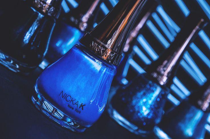 Nicka K Blue Nail Polish