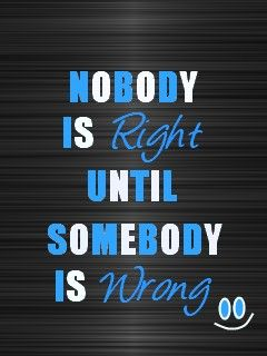 Right/Wrong :)