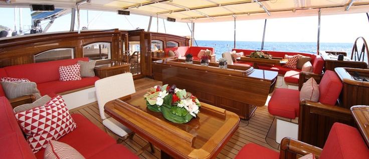 SY Marie, Luxury sailing yacht  http://www.luxurydirectorycaribbean.com/SY-Marie.htm