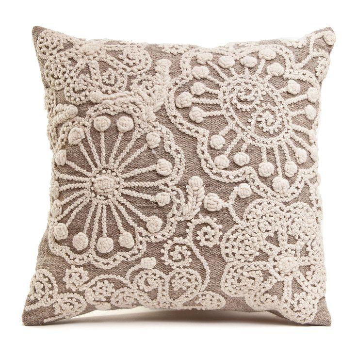 Idea - neutral pillow with vintage dollies found at next flea market trip