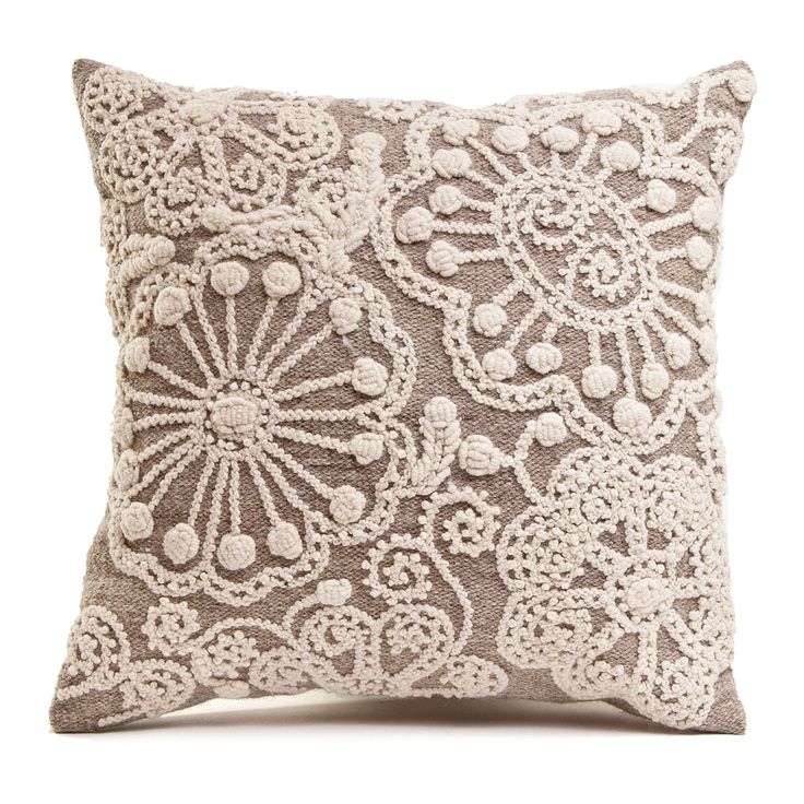Idea - neutral pillow with vintage dollies found at next flea market trip