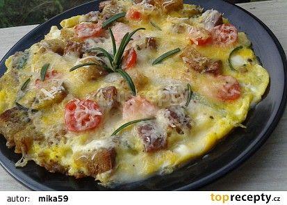 Omeleta s Romadurem recept - TopRecepty.cz